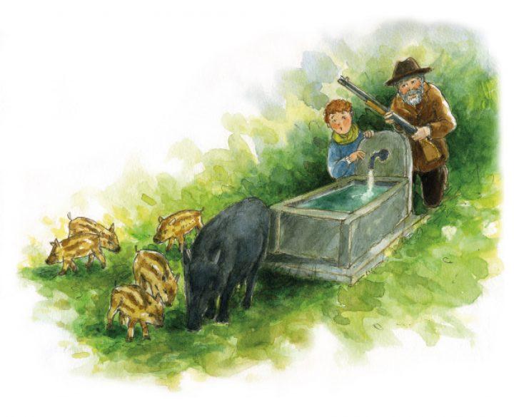 Nonna Grimilde e gli ovetti di Pasqua